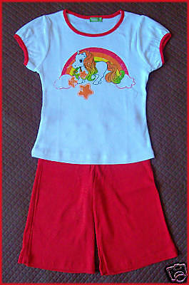 GIRLS SET Size 2 T-shirt & Pants - Gorgeous Little PONY OUTFIT GIRL - NEW