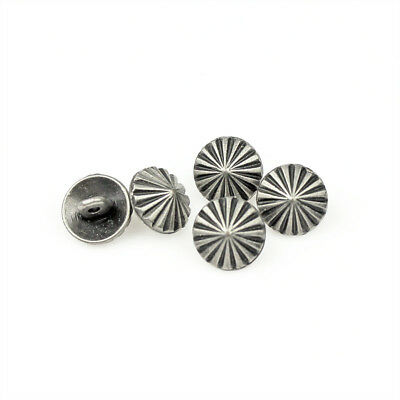 12 Pcs Novelty Lion Print Shank  Button Metal For Sewing Embellishments 15mm