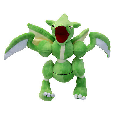 "Pokemon 14"" Plush - SCYTHER New 14 Inch (Red Blue) Strike Soft Stuffed Plushie"