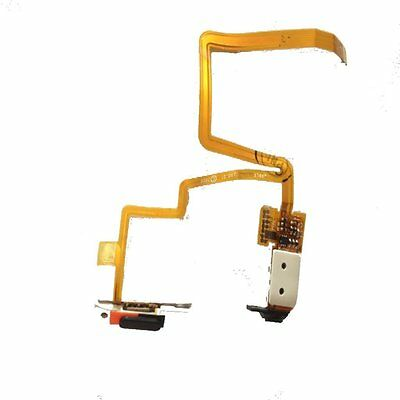 For iPod classic 6 6th 80GB 120GB Headphone Audio Jack Flex cable Black+Tool​s