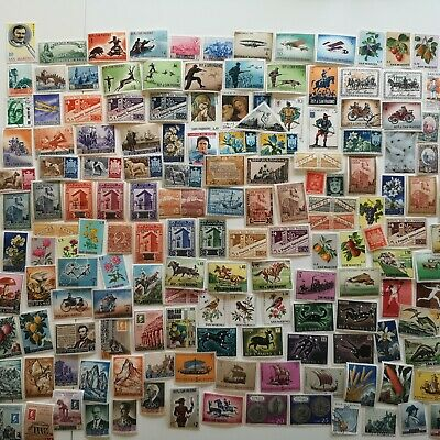 300 Different San Marino Stamp Collection