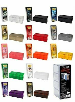 Ultra Pro / Dragon Shield Storage Box Aufbewahrungsbox: 4 Deck Box / 400+ Karten