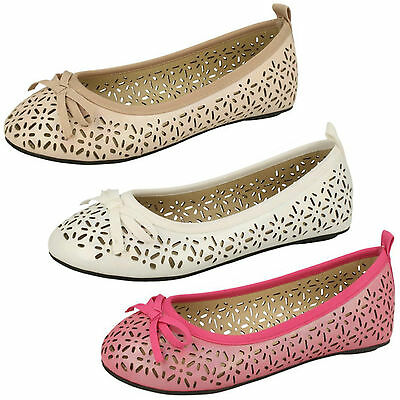 WHOLESALE Girls Ballerina Shoes / Sizes 9-2 / 18 Pairs / H2375