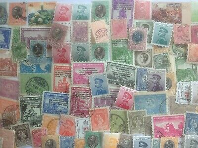 100 Different Serbia Stamp Collection