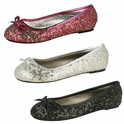 WHOLESALE Girls Glitter Shoes / Sizes 10-2 / 14 Pairs / H2354
