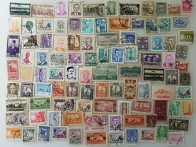 500 Different Syria Stamp Collection