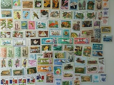 500 Different Togo Stamp Collection