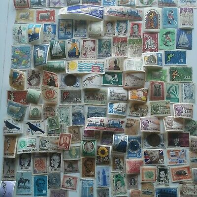 500 Different Uruguay Stamp Collection