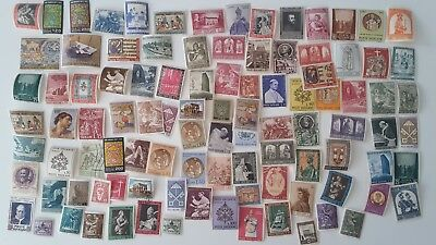 500 Different Vatican Stamp Collection
