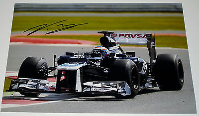 Valtteri Bottas Williams Formula One F1 Personally Signed Autograph 12X8 Photo