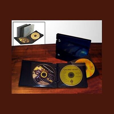 UniKeep CD/DVD 6 Disc Wallet Black w/3 pgs- Limited Edition