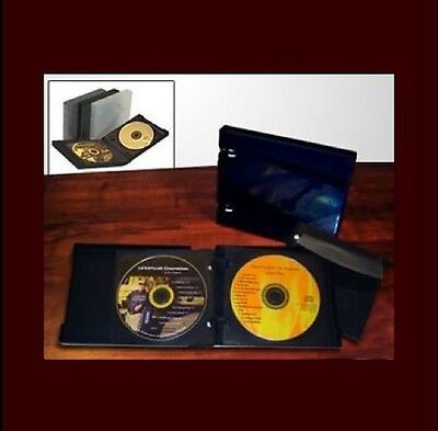 Unikeep CD/DVD 12 Wallet Black w/6 pgs Limited Edition
