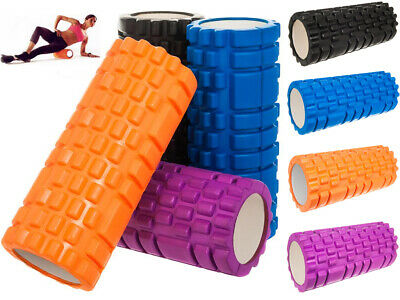 Grid Foam Roller Yoga Exercise Trigger Gym Physio Soft Massager Body Fitness
