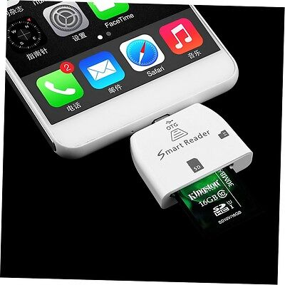 3 in 1 Multifunctional Micro USB Smart Card Reader for OTG Smartphone NK