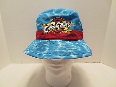 27e77ef711d Mitchell   Ness Nba Surf Camo Bucket Hat Cleveland Cavaliers S m Small  Medium