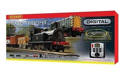 Hornby Oo R1126 Digital Train Set Mixed Freight Hrr1126