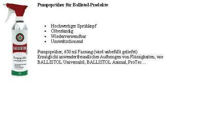 Ballistol, Universalöl,Pumpsprüher 650 ml,Spray , Ballistol 500ml