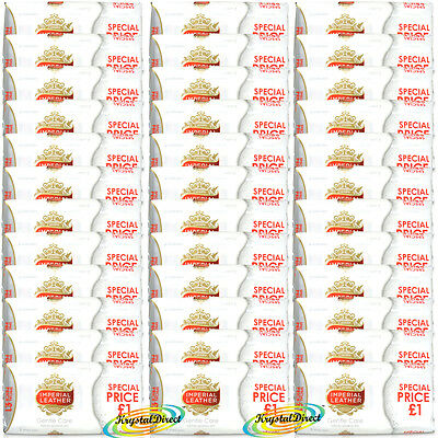 108 Bars Of Cussons Imperial Leather Gentle Care Soap 100g White