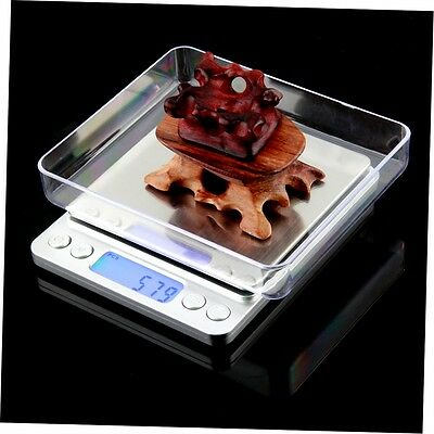 Mini Precision Digital Gram Jewelry Scale 2000g x 0.1g  LCD Display NK