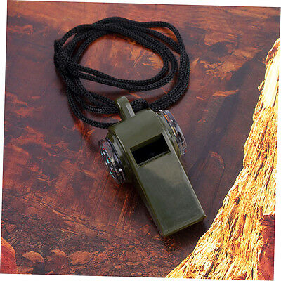 3 in1 Whistle Compass Thermometer For Outdoor Emergency Gear Camping Survival NK