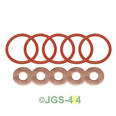 Land Rover Discovery 2 Defender TD5 Diesel Injector O-Ring & Washer Kit OEM