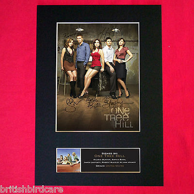 ONE TREE HILL Mounted Signed Photo Reproduction Autograph A4 375
