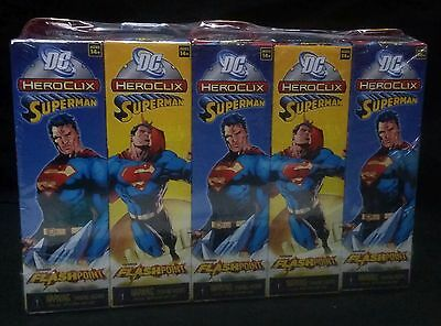 Heroclix Superman Flashpoint Booster Brick 10 Booster Packs Pack Sealed
