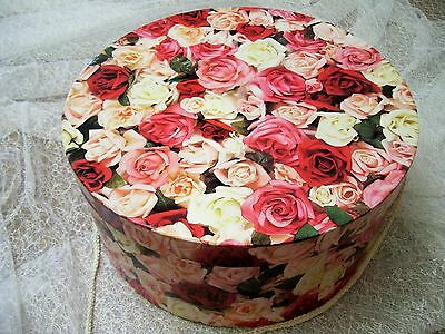 Kentucky Derby Hat Box for your Hat Fascinator Wedding Keepsake Box Container