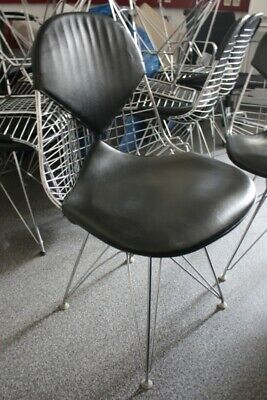 VITRA DKR-2 Eames Chair Eifel Wire Chair Bikini Leder