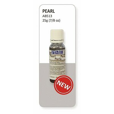 PME Pearl Lustre Edible Airbrush Colour 25ml - Cake Decorating and Sugarcraft