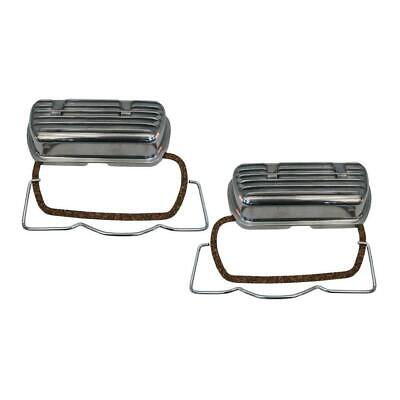 Clip on alloy rocker covers VW T1 Beetle and VW Type 2 up to 1600cc air cooled