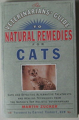 "Cat Book  Veterinarians"" Guide To Natural Remedies For Cats"