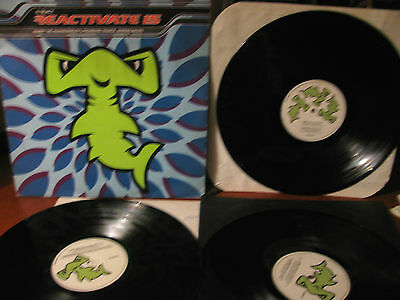 REACTIVATE 15 - triplo vinile- 3 LP's- React- electronic trance compilation