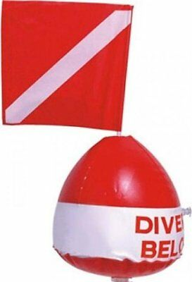 Surface Marker Inflatable Dive Flag Buoy Sign Signal Float Scuba Dive Snorkeling