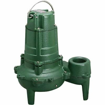 "Zoeller N267 - 1/2 HP Cast Iron Sewage Pump (2"") (Non-Automatic)"