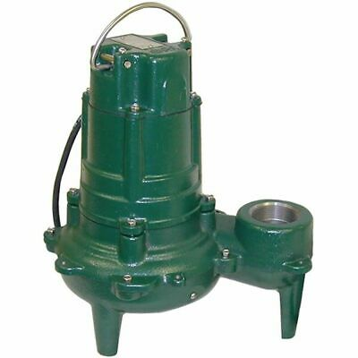 "Zoeller N270 - 1 HP Cast Iron Sewage Pump (2"") (Non-Automatic)"