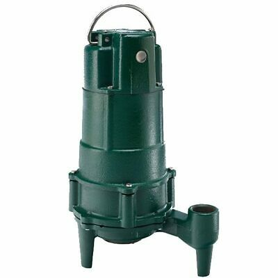 "Zoeller N807 - 1 HP Cast Iron Residential Grinder Pump (1-1/4"") (Non-Automatic)"