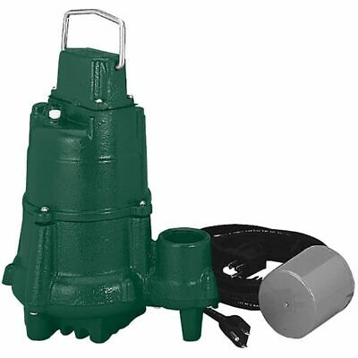 Zoeller BN98 - 1/2 HP Cast Iron Submersible Sump Pump w/ Tether Float Switch