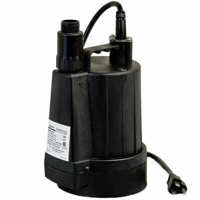 "Zoeller 42-0007 - 15 GPM (1"") Floor Sucker II Oil-Free Submersible Utility Pump"