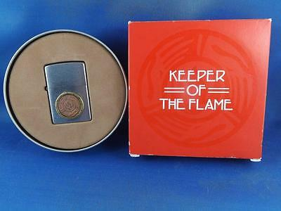 Zippo Millennium Collectible 2000 Keeper Of The Flame Limited Edition Mint