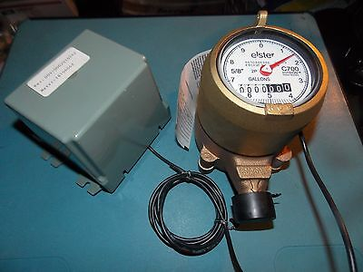 "Elster Amco 5/8""  C700 InVision 2P Bronze Water Meter"
