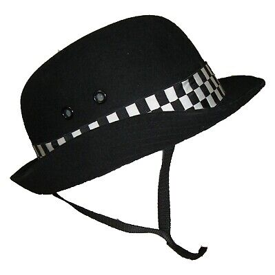 Ex Police Genuine WPC Bowler Hat Fancy Dress TV Theatre Party New Sizes 53-63