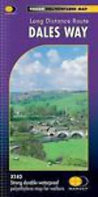 Dales Way Harvey map National Trail XT40 Leeds to Windermere