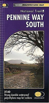 Pennine Way South Harvey map National Trail XT40 Edale to Horton Ribblesdale