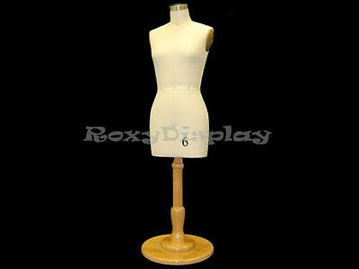 Half Scale Female Half Body Dress Form Good For Table Top Display #ST-SIZE6HALF