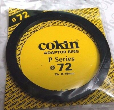 Genuine Cokin P Series 72mm Adapter Ring P472 Made in France Original 72 mm
