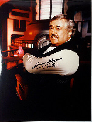 Star Trek Autograph 8x10 Photo Signed James Doohan/Scotty-(LHAU-433)