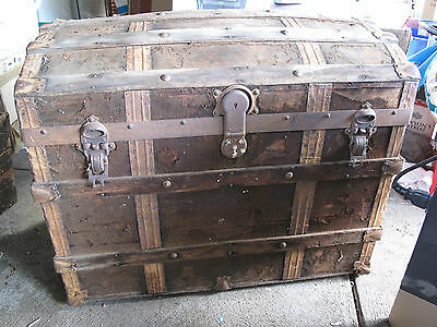 Antique Curved Top Sea Chest