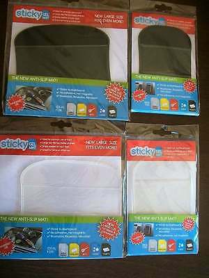 Bulk Lot Of 27 Sticky Gel Mats Small + Large Black + Clear New