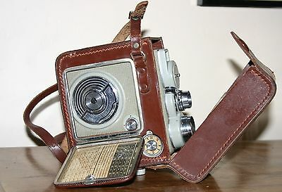 Ancienne CAMERA 8mm vers 1960's EUMIG C3